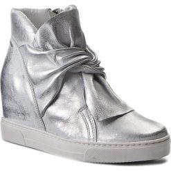 Sneakersy EKSBUT - 77-4645-369-1G Srebro Licowa. Szare sneakersy damskie Eksbut, ze skóry. W wyprzedaży za 269,00 zł.