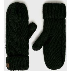 Roxy - Rękawiczki. Czerwone rękawiczki damskie Roxy, z dzianiny. Za 129,90 zł.