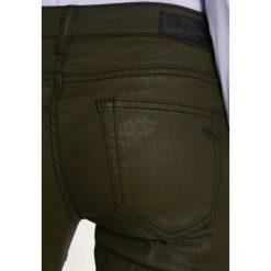 LTB MINA Jeansy Slim Fit khaki coated wash. Brązowe jeansy damskie marki LTB. W wyprzedaży za 155,35 zł.