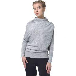 Sweter w kolorze jasnoszarym. Szare swetry klasyczne damskie marki Lada Lucci, xxs, ze stójką. W wyprzedaży za 229,95 zł.