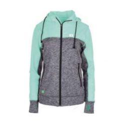 IQ Bluza damska EOS WMNS biscay green/grey melange r.L. Szare bluzy sportowe damskie marki IQ, l. Za 129,99 zł.
