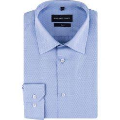 Koszula SIMONE KDNS000294. Białe koszule męskie na spinki marki bonprix, z klasycznym kołnierzykiem. Za 149,00 zł.