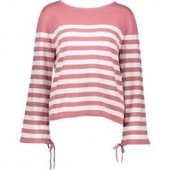 Bluza w kolorze szaroróżowym. Czerwone bluzy damskie marki Tom Tailor Adults, s, w paski, z bawełny. W wyprzedaży za 78,95 zł.