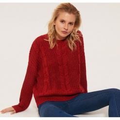 Sweter oversize - Czerwony. Czerwone swetry oversize damskie House, l. Za 69,99 zł.