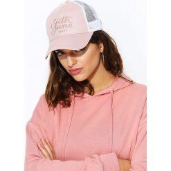 Czapki damskie: Różowa Czapka Free Range