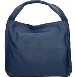 Torba - 79-04-O D BLU. Szare torebki klasyczne damskie Venezia, ze skóry. Za 239,00 zł.