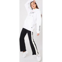 Bluzy rozpinane damskie: Sweet SKTBS Bluza z kapturem Sweet Time Rose - White