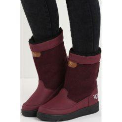 Bordowe Śniegowce Carry Power. Czerwone buty zimowe damskie Born2be. Za 69,99 zł.