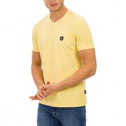 T-shirt w kolorze żółtym. Żółte t-shirty męskie marki GALVANNI, m. W wyprzedaży za 84,95 zł.