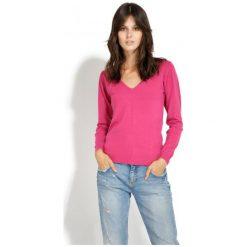 Swetry damskie: William De Faye Sweter Damski S Różowy