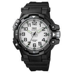 Zegarek Q&Q VR82-003 Męski Wodoszczelny. Czarne zegarki męskie Q&Q. Za 119,08 zł.