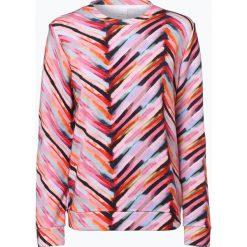 Bluzy rozpinane damskie: BOSS Casual - Damska bluza nierozpinana z dodatkiem jedwabiu – Tafly, biały