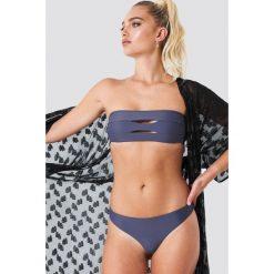 NA-KD Swimwear Dół bikini - Blue. Niebieskie bikini marki NA-KD Swimwear. Za 60,95 zł.