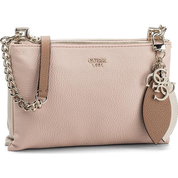 38fb9ad827607 Torebka GUESS - Lou Lou (VG) Mini Bag HWVG69 55700 RSM - Różowe listonoszki damskie  Guess