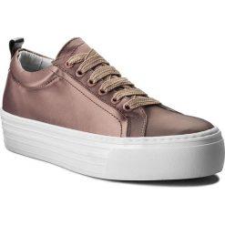 Sneakersy BRONX - 66045-AB BX 425 Dusty Pink 1697. Czarne sneakersy damskie marki Bronx, z materiału. W wyprzedaży za 189,00 zł.