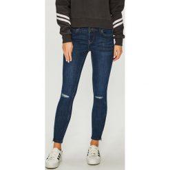 Vero Moda - Jeansy. Szare jeansy damskie slim marki Vero Moda. Za 149,90 zł.