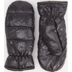 Puszyste rękawiczki z jednym palcem - Czarny. Brązowe rękawiczki damskie marki Roeckl. Za 49,99 zł.