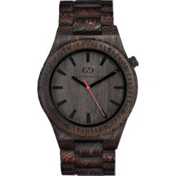 Zegarek Giacomo Design Drewniany męski GD08601. Czarne zegarki męskie Giacomo Design. Za 385,00 zł.
