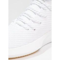Adidas Originals CRAZY Tenisówki i Trampki wysokie footwear white/gold metallic. Białe tenisówki męskie adidas Originals, z materiału. W wyprzedaży za 399,20 zł.