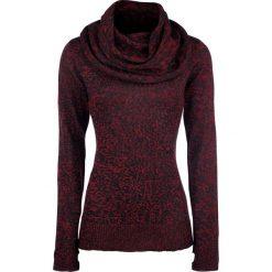 Black Premium by EMP Up The Neck Sweter damski czarny/czerwony. Czarne golfy damskie marki Black Premium by EMP, xl, z poliesteru. Za 184,90 zł.