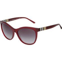 Okulary przeciwsłoneczne damskie: Burberry Okulary przeciwsłoneczne red