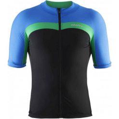 Craft Koszulka Rowerowa Velo Black Blue L. Czarne koszulki do fitnessu męskie Craft, m. W wyprzedaży za 153,00 zł.