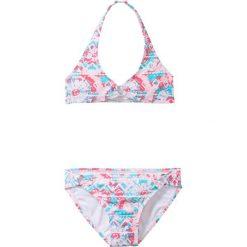 Stroje dwuczęściowe dziewczęce: Bikini dziewczęce (2 części) bonprix jasnoróżowy wzorzysty