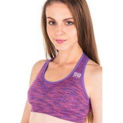 Biustonosze sportowe: GATTA Biustonosz Sport Bra GA 0S Purple Melange r. L
