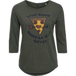 T-shirty damskie: Koszulka w kolorze oliwkowym