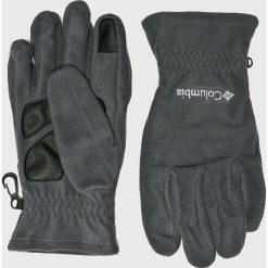 Columbia - Rękawiczki. Szare rękawiczki męskie Columbia, z dzianiny. W wyprzedaży za 89,90 zł.