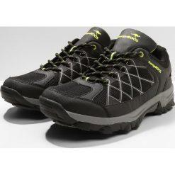 KangaROOS LOOP Obuwie hikingowe jet black/lime. Czarne buty sportowe męskie KangaROOS, z gumy, outdoorowe. W wyprzedaży za 209,30 zł.