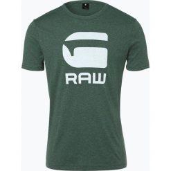 G-Star - T-shirt męski, zielony. Zielone t-shirty męskie z nadrukiem marki G-Star, m. Za 99,95 zł.