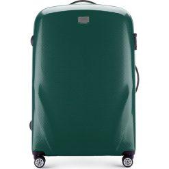 Walizka duża 56-3P-573-85. Zielone walizki marki Wittchen, z gumy, duże. Za 279,00 zł.