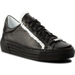 Sneakersy EVA MINGE - Manacor 3R 18SM1372472ES 101. Czarne sneakersy damskie Eva Minge, z materiału. W wyprzedaży za 229,00 zł.