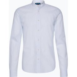 Scotch & Soda - Koszula męska, niebieski. Brązowe koszule męskie marki QUECHUA, m, z elastanu, z krótkim rękawem. Za 279,95 zł.