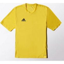 Adidas Koszulka piłkarska męska Core Training Jersey żółta r. L (S22396). Żółte koszulki sportowe męskie Adidas, l, z jersey. Za 61,57 zł.