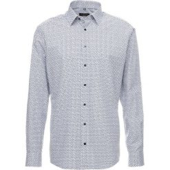 Koszule męskie na spinki: Eterna MODERN FIT Koszula biznesowa navy