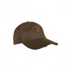 Czapka myśliwska świecąca. Brązowe czapki damskie SOLOGNAC, z bawełny. Za 59,99 zł.