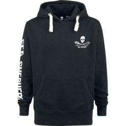 Sea Shepherd Jolly Roger Bluza z kapturem czarny. Czarne bejsbolówki męskie Sea Shepherd, xl, z nadrukiem, z bawełny, z kapturem. Za 199,90 zł.