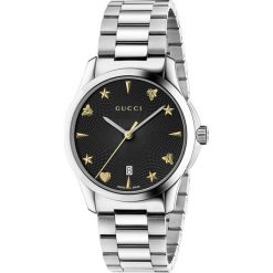 ZEGAREK GUCCI G-Timeless YA1264029. Czarne zegarki damskie GUCCI, ze stali. Za 4260,00 zł.