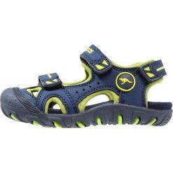 KangaROOS INSA Sandały trekkingowe dark navy/lime. Niebieskie sandały chłopięce marki KangaROOS. Za 129,00 zł.