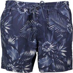"""Szorty kąpielowe """"Tropic"""" w kolorze granatowym. Niebieskie szorty męskie marki Brunotti, m, z denimu. W wyprzedaży za 73,95 zł."""