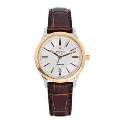 """Zegarki męskie: Zegarek """"21350-43-21R"""" w kolorze biało-złoto-brązowym"""