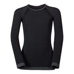 Odlo Koszulka tech. Odlo Shirt l/s crew neck EVOLUTION WARM - 183139 - 183139/60056/152/164. Czarne bluzki damskie marki Odlo, l. Za 114,90 zł.
