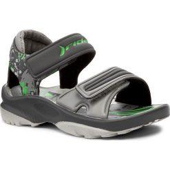 Sandały chłopięce: Sandały RIDER – K2 Twist VI Baby 81912 Grey/Dark Grey/Green 20996