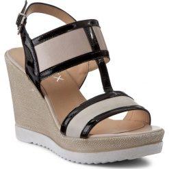 Rzymianki damskie: Sandały ANN MEX – 8098 11SJ+03B+01L Szary