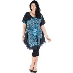 Odzież damska: Sukienka w kolorze niebiesko-granatowym