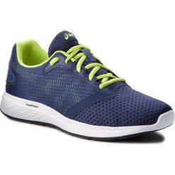 Buty ASICS - Patriot 10 1011A131 Deep Ocean/Flash Yellow 400. Szare buty do biegania męskie marki Asics, z poliesteru. W wyprzedaży za 189,00 zł.