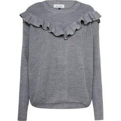 Sweter w kolorze szarym. Swetry oversize damskie About You, l, z okrągłym kołnierzem. W wyprzedaży za 65,95 zł.