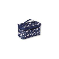 Kosmetyczki damskie: TOP CHOICE Kosmetyczka damska Roses kuferek podłużny (92510)